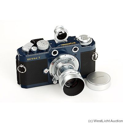 Voigtländer: Bessa T '101 years' (blue) camera