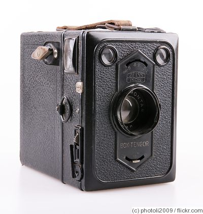 Zeiss Ikon: Box Tengor 54/2 camera