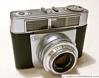 Zeiss Ikon: Contessa 35 (533/24) Tessar 50mm camera