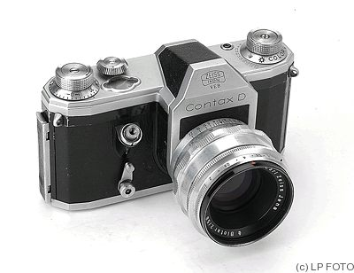 Zeiss Ikon VEB: Contax D camera
