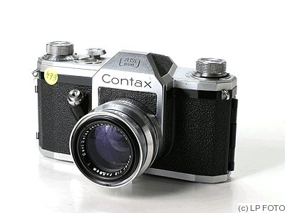 Zeiss Ikon VEB: Contax S (Model A) camera