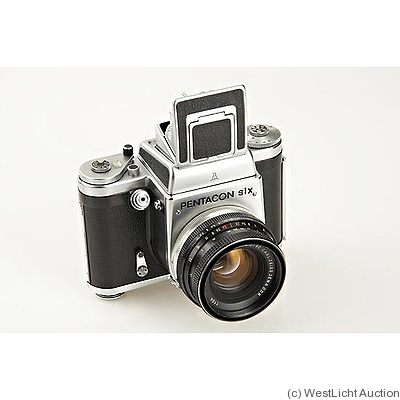 Zeiss Ikon VEB: Pentacon Six camera