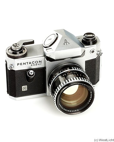 Zeiss Ikon VEB: Pentacon Super camera