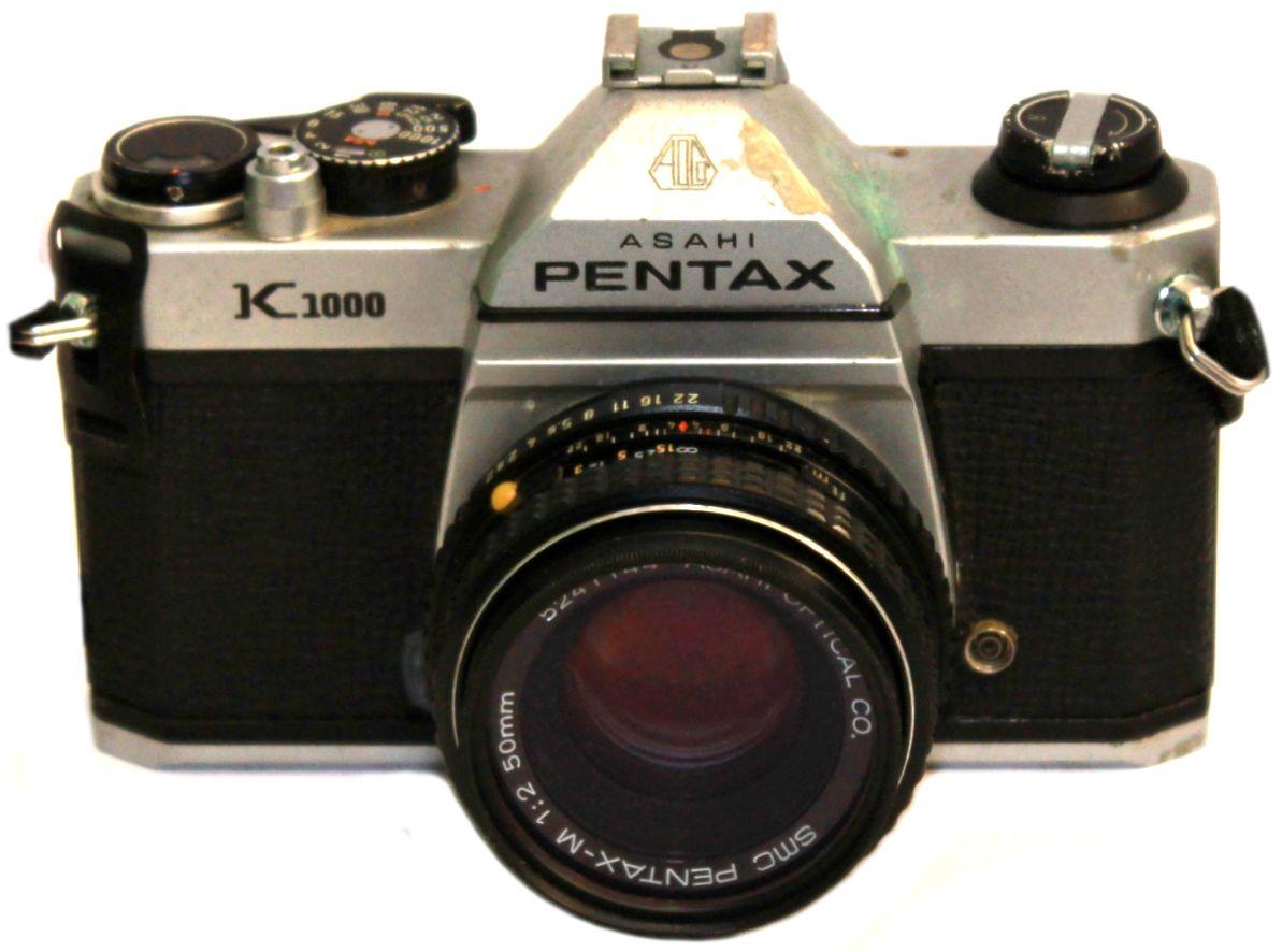 asahi pentax k1000 how to use