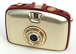 Zeiss Ikon VEB: Penti (red/gold) camera