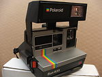 Polaroid: SUN 635 QS SE camera