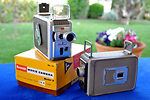 Kodak Eastman: brownie 8mm movie camera camera
