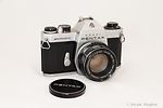 Asahi: Pentax Spotmatic (SP) II (Chrome) camera