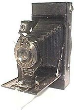 Kodak Eastman: Autographic Folding 2C camera