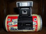 Ginfax: Budweiser Beer Can camera