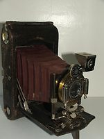 Kodak Eastman: Folding Pocket Kodak No.3 Model G camera