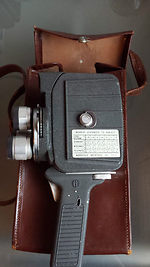 Mansfield Holiday: Meter Matic 8mm Movie camera