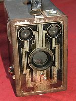 Kodak Eastman: Six-16 Brownie (US) camera
