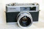 Minolta: Hi-matic 7 camera
