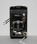 Ansco: Folding Ansco No.3 camera