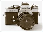 Minolta: Minolta XE-1 (chrome) camera