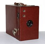 Kodak Eastman: Rainbow Hawk-Eye No.2 Mod B (colored) camera
