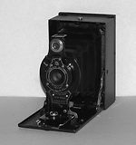 Kodak Eastman: Folding Film Pack Hawk-Eye No.2 camera