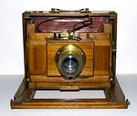 unknown companies: French chambre 13x18 camera