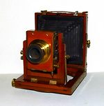 unknown companies: qtr plate Field camera camera