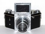 Ihagee: Exakta B chrome camera