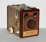 Kodak Eastman: Brownie Flash IV camera