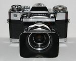 Zeiss Ikon: Contarex Super (10.2600) (chrome) camera