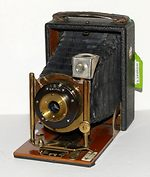 unknown companies: 6x9 plate camera brass/wood camera