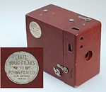 Kodak Eastman: Rainbow Hawk-Eye No.2A Model  B (colored) camera
