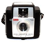 Kodak Eastman: Brownie Bullet II camera