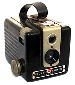 Kodak Eastman: Brownie Hawkeye camera