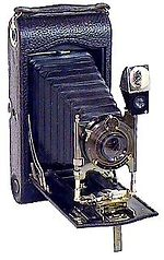 Kodak Eastman: Folding Pocket 3A Model C camera