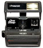 Polaroid: One Step camera
