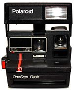 Polaroid: One Step Flash (1982) camera