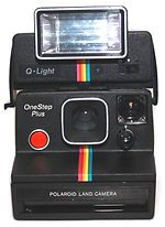 Polaroid: One Step Plus camera