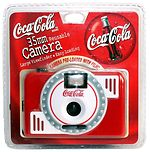 unknown companies: Coca-Cola (red/white) camera