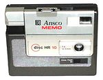 Ansco: Memo Disc HR 10 camera