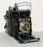 Graflex: Miniature Speed Graphic camera