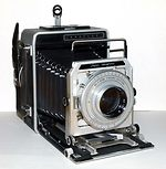 Graflex: Super Graphic camera