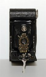 Kodak Eastman: Folding Autographic Brownie No.2 camera