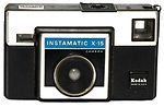 Kodak Eastman: Instamatic X-15 camera
