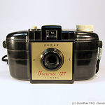 Kodak Eastman: Brownie 127 (1953-1959) camera