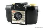 Kodak Eastman: Brownie 127 (1953-1959, white) camera