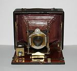 unknown companies: Folding Plate camera 12x17 camera