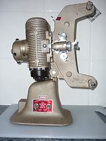 G.B. Bell and Howell: Model 606 Projector camera