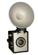 Ansco: Shur Flash camera