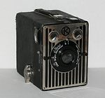 Kodak Eastman: Six-20 Brownie (UK) camera