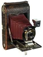 Kodak Eastman: Folding Pocket No.3 Mod C4 camera