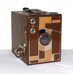 Kodak Eastman: Beau Brownie No 2 camera
