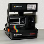 Polaroid: Supercolor 635 CL camera